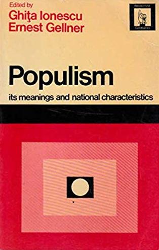 ionescu gellner populism