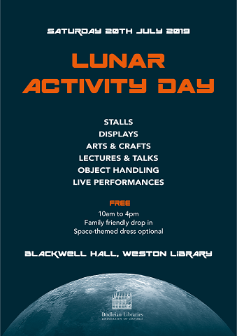 Lunar activity day poster