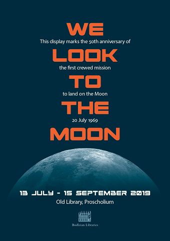Lunar display poster