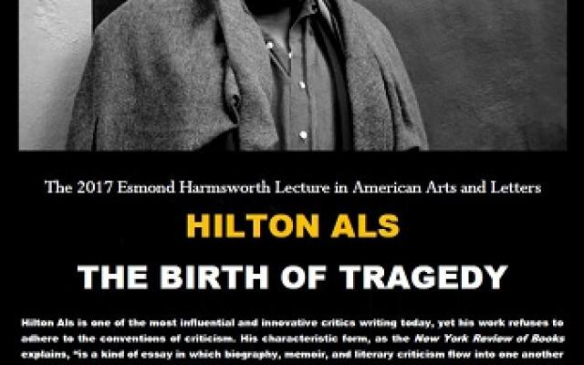 Esmond Harmsworth Lecture 2017