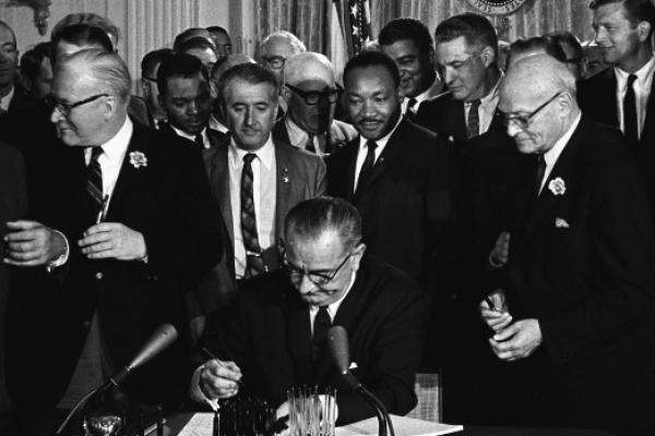 civil rights signing