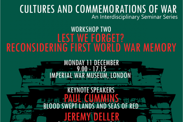 Cultures and Communications of War: Workshop 2