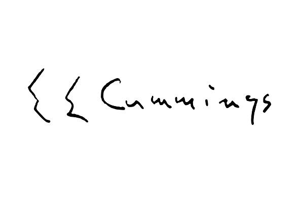ee cummings signature