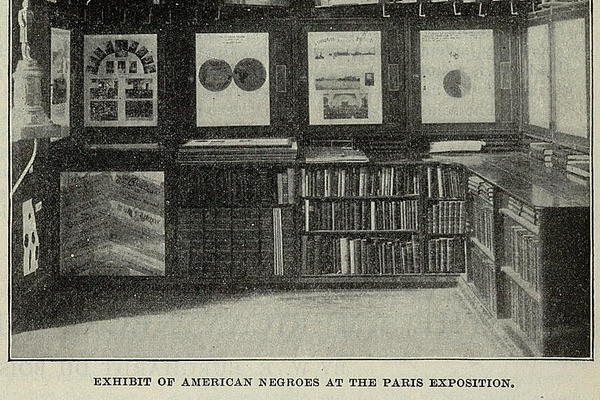 exhibit of the american negroes at the paris exposition