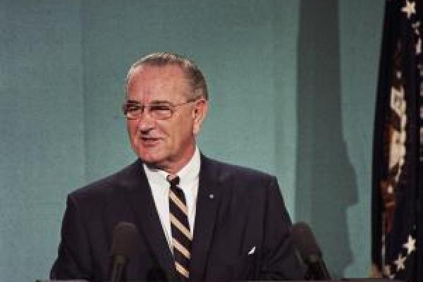 Lyndon B Johnson, December 1967