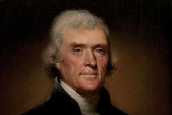 Thomas Jefferson (Rembrandt Peale, 1800)
