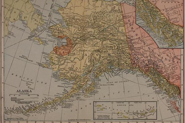 hammonds 8x11 map of alaska