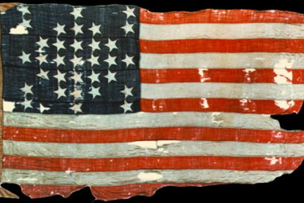 Fort Sumter storm flag 1861