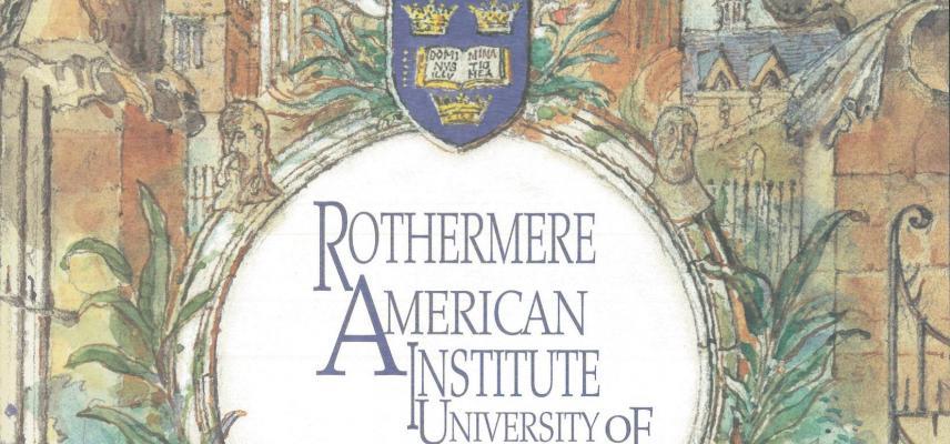 RAI Opening ceremony brochure cover