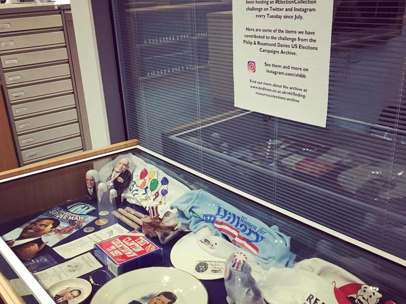 a collection of US election artefacts