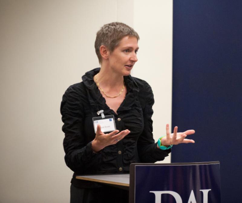 Senior Visiting Research Fellow speaking