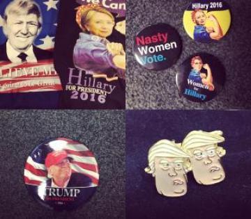 2016 campaign ephemera