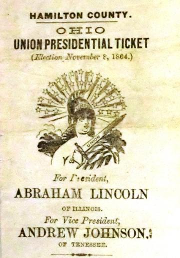 Lincoln Election Ticket