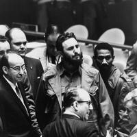 Fidel Castro at the UN General Assembly, 1960