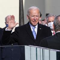 Joe Biden takes the presidential oath of office
