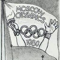 moscow Olympics cartoon