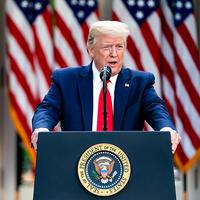 Trump coronavirus update briefing (April 2020)