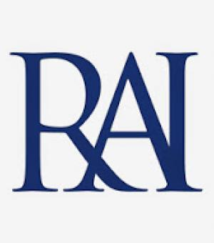 RAI Logo - blue on white