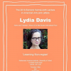 Lydia Davis poster